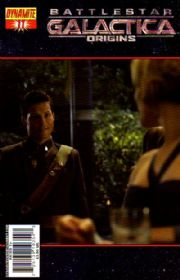 Battlestar Galactica Origins #11 Photo Cover (2008) Dynamite Entertainment comic book